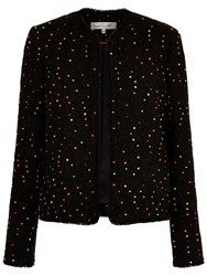 Damsel In A Dress Tweed Jacket Black