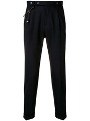 Berwich Tapered Trousers Blue
