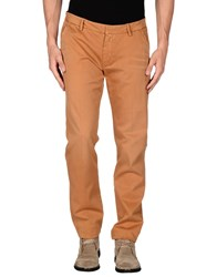 Truenyc. Trousers Casual Trousers Men Ocher