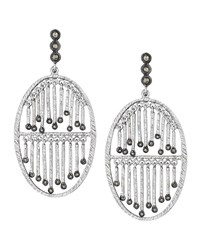 Spring Silver Double Stick Diamond Earrings Coomi