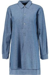 Marc By Marc Jacobs Cotton Chambray Shirt Mid Denim