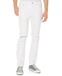 Levi's 511 Slim Fit Ripped Jeans Whiteout Destructed