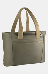 Briggs And Riley 'Large Baseline' Shopping Tote Olive