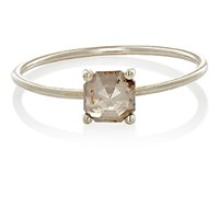 Grace Lee Women's Square Rustic Diamond Ring No Color