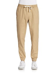 Original Penguin Skinny Fit Woven Dobby Jogger Pants Kelp