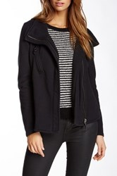 Fillmore French Terry Moto Track Jacket Black