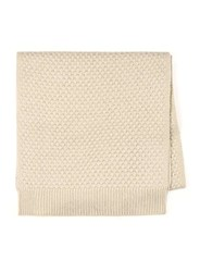 Topman Brown Stone Textured Knitted Scarf