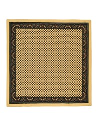 Faconnable Square Scarves Sand