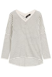 Steffen Schraut Drop Shoulder Striped Top Stripes