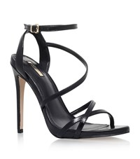 Carvela Kurt Geiger Georgia Leather Sandals Female Black
