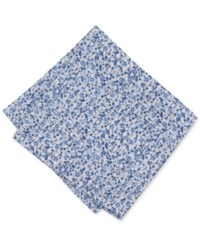 Bar Iii Men's Dandy Floral Pocket Square Only At Macy's Blue
