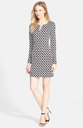 Women's Diane Von Furstenberg 'Reina' Silk Shift Dress