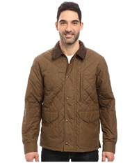 Filson Quilted Mile Marker Marsh Olive Men's Clothing Brown