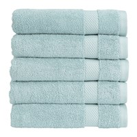 Christy Bamford Towel Spa Blue Bath Towel
