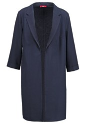 S.Oliver Classic Coat Navy Dark Blue