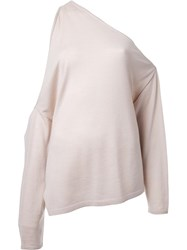 Dion Lee Long Sleeved Falling Knit Nude Neutrals