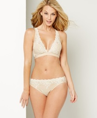 Wacoal Embrace Lace Soft Cup Wireless Bra 852191 Naturally Nude Ivory