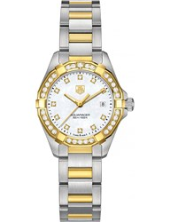 Tag Heuer Way1453.Bd0922 Aquaracer 18Ct Gold And Stainless Steel Watch