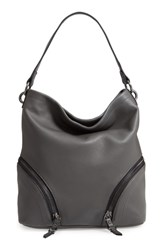 Vince Camuto Katja Leather Hobo Red Pepper Berry