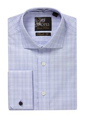 Skopes Men's Luxury Collection Formal Shirt Blue