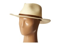 Tommy Bahama Panama Outback With Leather Trim X Natural Caps Beige