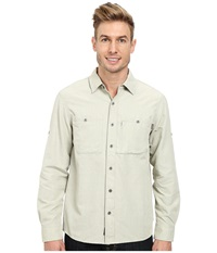 Outdoor Research Wayward L S Shirt Cairn Men's Clothing White