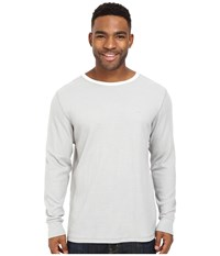 Billabong Essential Thermal Light Grey Heather Men's Long Sleeve Pullover Gray