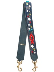 Dolce And Gabbana Clasp Strap Blue
