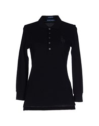 Ralph Lauren Topwear Polo Shirts Women Black