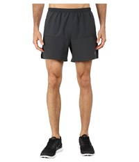 Nike 5 Distance Short Anthracite Anthracite Reflective Silver Men's Shorts Black