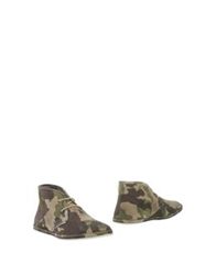 Yab Ankle Boots Military Green