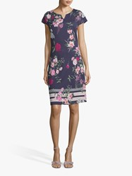 Betty And Co. Floral Jersey Dress Multi