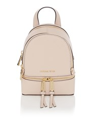 Michael Kors Rhea Extra Small Zip Back Pack Pink