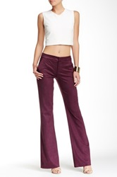Level 99 Wide Leg Trouser Red