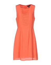 Cutie Short Dresses Salmon Pink