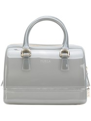 Furla Small Candy Sweetie Tote Women Pvc One Size Grey