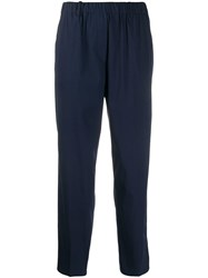 Antonelli Cropped Trousers Blue