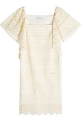 Philosophy Di Lorenzo Serafini Lace Dress Beige
