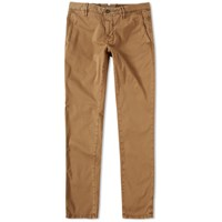 Incotex Slim Fit Stretch Chino Green