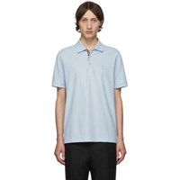 Burberry Blue Eddie Monogram Polo