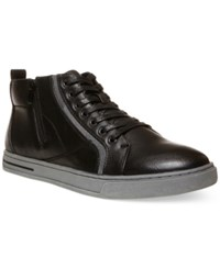 Steve Madden Men's Danver Hi Top Sneakers Men's Shoes Black