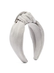 House Of Lafayette Loulou Knotted Headband Grey