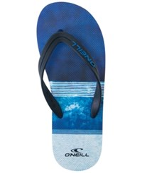 O'neill Men's Profile Printed Sandals Blue