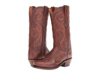 Lucchese Nicole Antique Rust Women's Shoes Brown