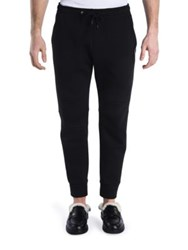 Fendi Solid Jogger Pants Black