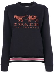 Coach Rexy And Carriage Sweatshirt Black