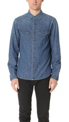 Alex Mill Western Shirt Light Indigo