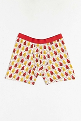 Urban Outfitters Condiments Boxer Yellow
