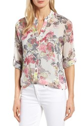 Kut From The Kloth Women's Floral Print Blouse