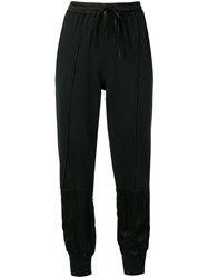 Andrea Ya'aqov Skinny Fit Jogging Pants Black